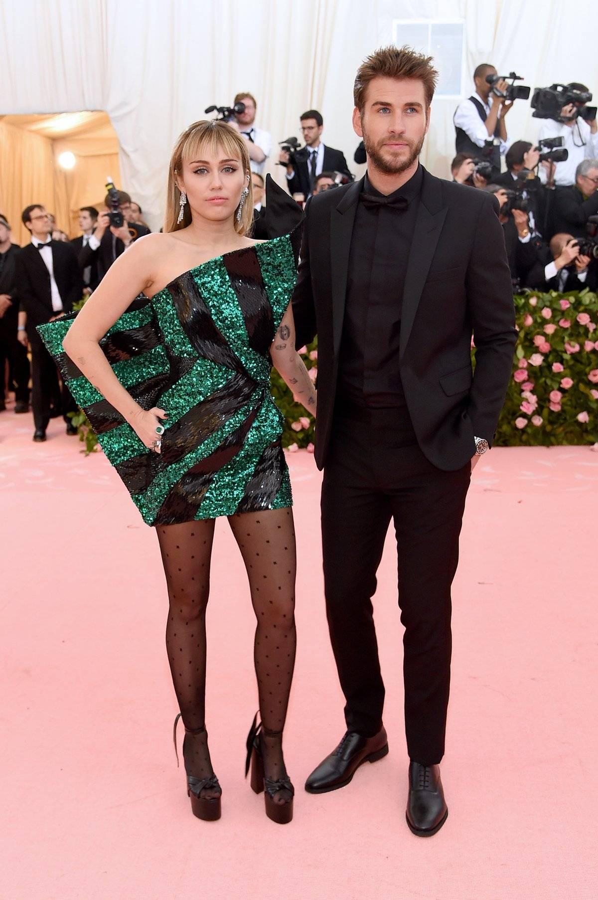 Miley Cyrus y Liam Hemsworth Getty Images