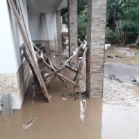 Primeras lluvias de mayo ocasionan daños en tres departamentos