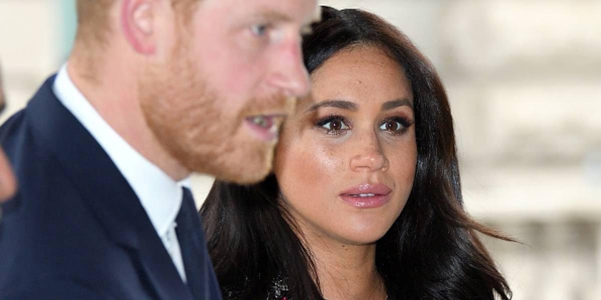 Meghan Markle, esposa del príncipe Harry, entró en labores de parto