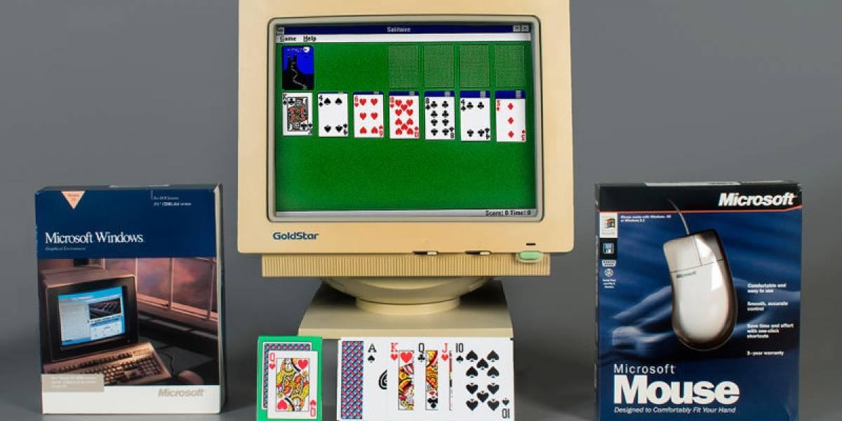 """""""Solitario"""", el juego de cartas de Windows, ahora está en el Salón de la Fama de los Videojuegos"""