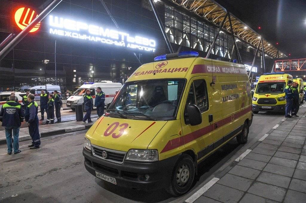 Accidente aéreo en Moscú