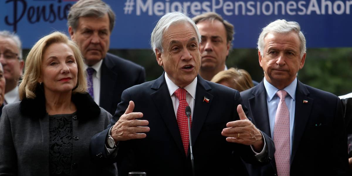 """Presidente Piñera sale en defensa de su reforma a las pensiones y pide a parlamentarios que la aprueben """"de una vez por todas"""""""