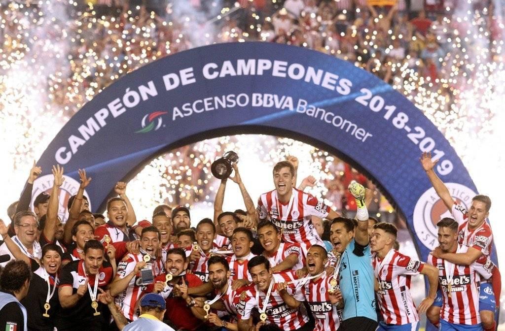 Atlético San Luis es campeón