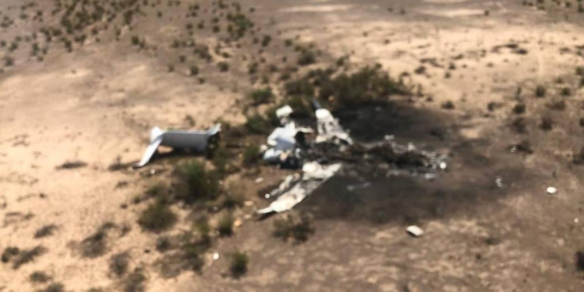 Encuentran restos de avión desaparecido en Coahuila