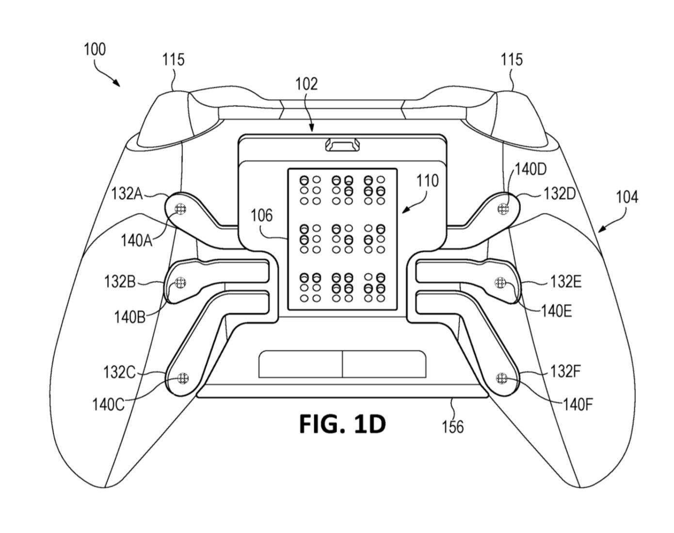 Microsoft patentó un control de Xbox One con sistema Braille