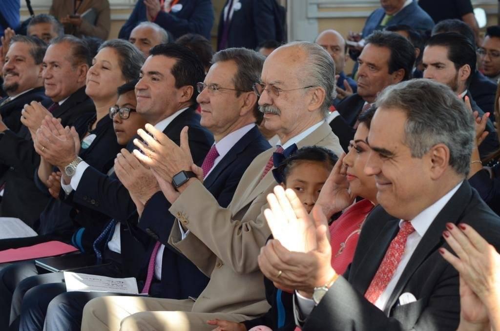 Autoridades BBVA, SEP, Telefónica Movistar