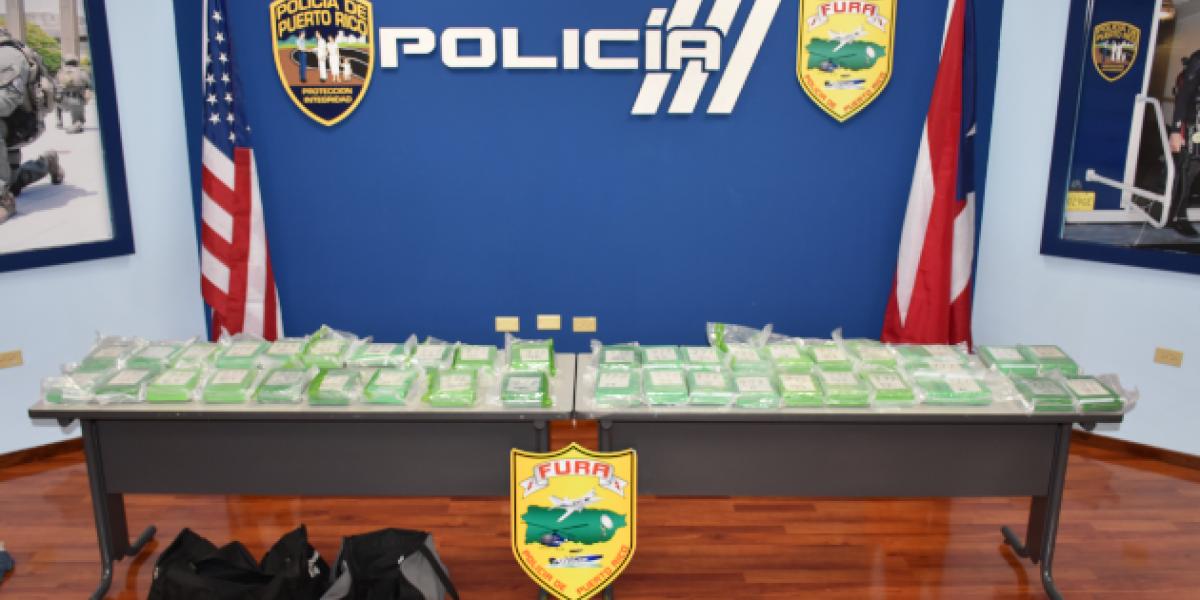 Ocupan 40 bloques de cocaína en embarcaciones procedentes de Culebra