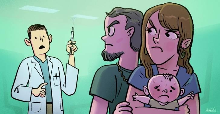 Cifras indican que padres fueron responsables de que niños no recibieran vacuna para la influenza