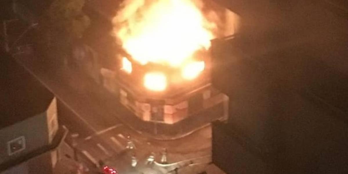 Casarão: Casa noturna em Santo André é destruída por incêndio