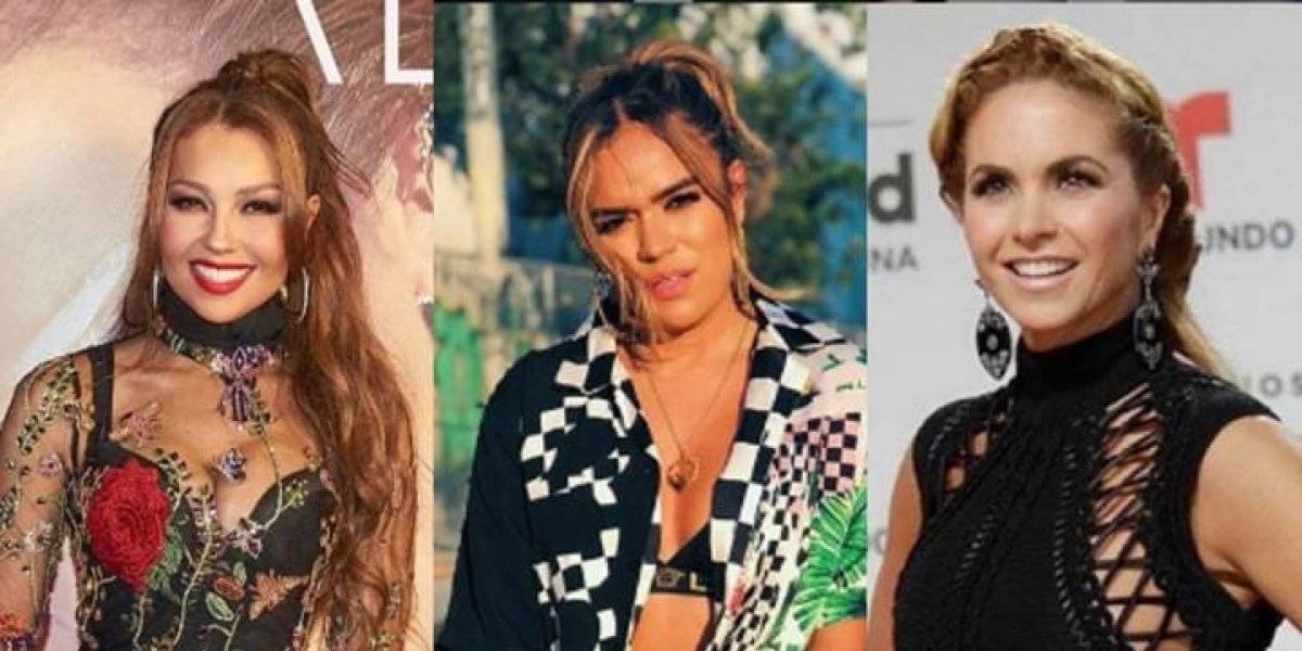 FOTO. Aseguran que Karol G le copia el estilo a Lucero y a Thalía