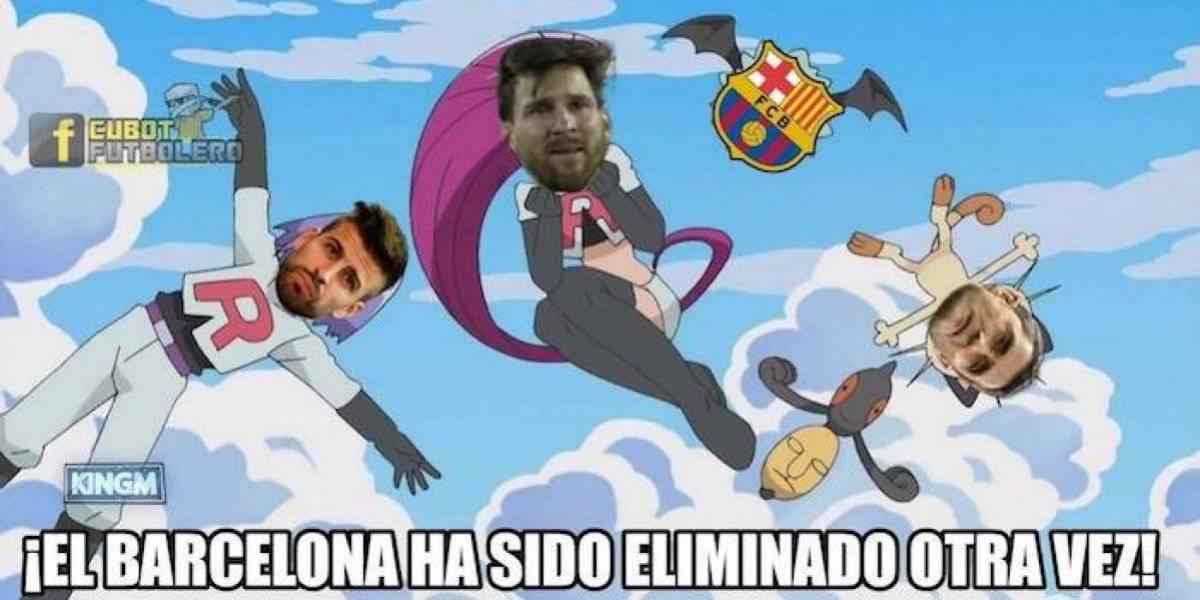 Los memes de la eliminación del Barcelona a manos del Liverpool