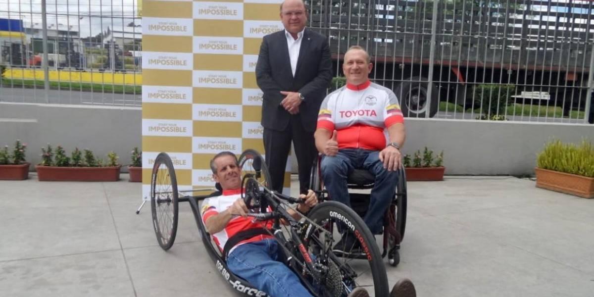 Patricio Holguín: Es un honor representar a Ecuador en el mundial de paraciclismo