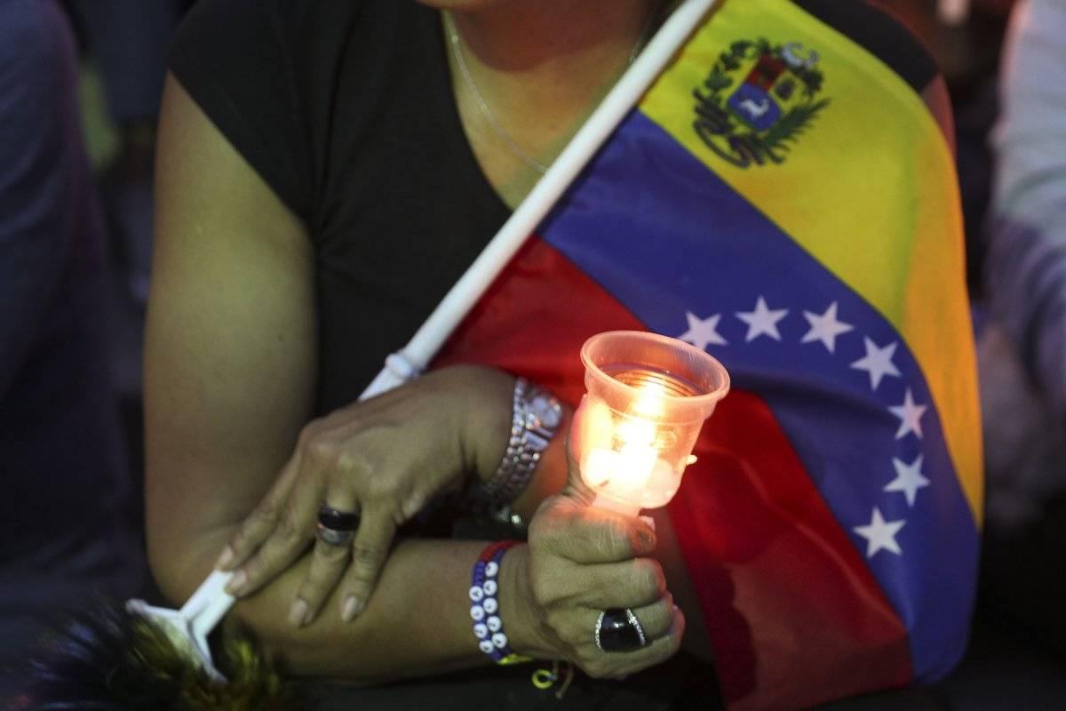 Protestas en Venezuela Foto: AP
