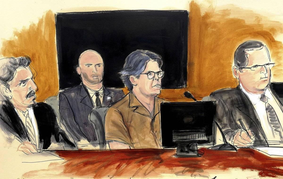 Keith Raniere, líder del grupo NXIVM, durante una audiencia judicial en Brooklyn, Nueva York. Foto: AP