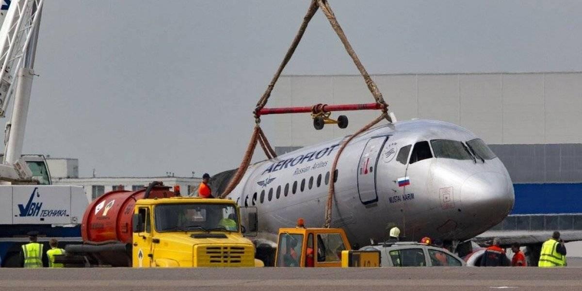 Sobreviviente de accidente de avión ruso recuerda un rayo
