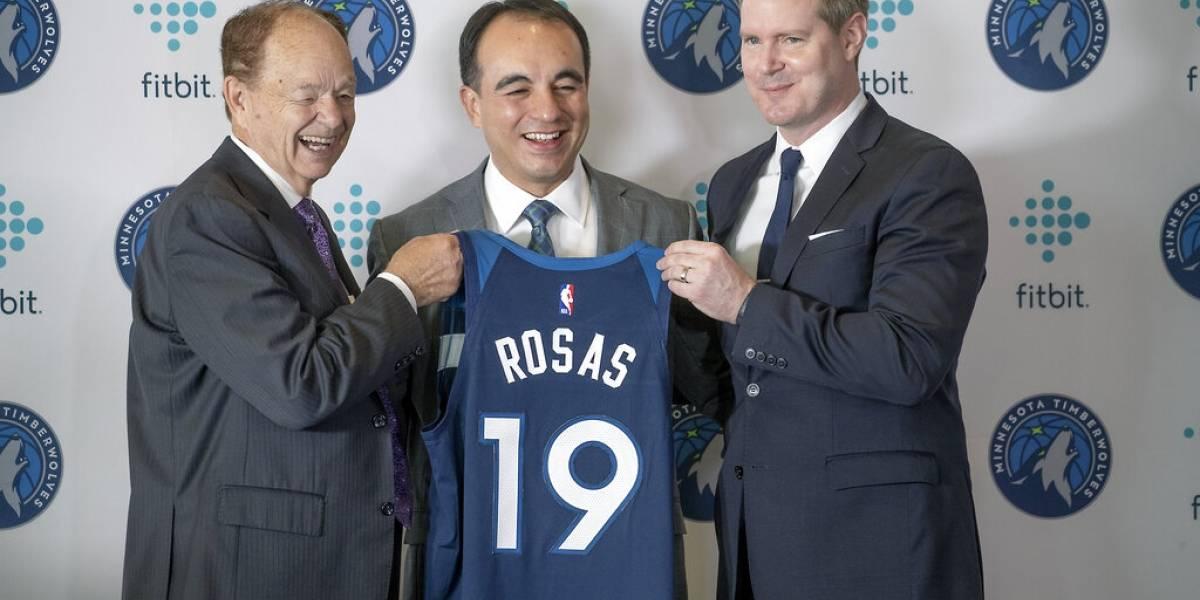 Nombran al primer latino en dirigir operaciones de un equipo NBA