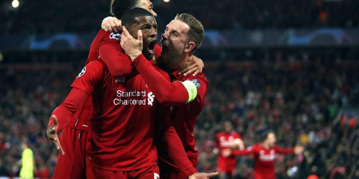 Liverpool aplasta a Barcelona y pasa a la final de la Liga de Campeones