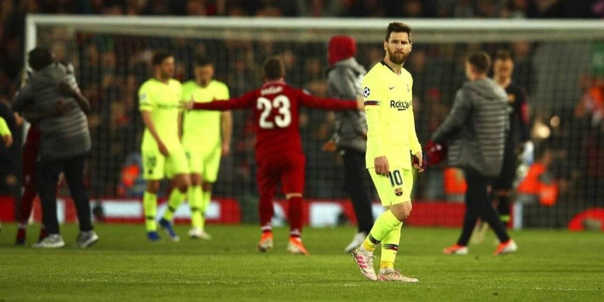 Messi se perdió cuando más lo necesitan Vidal y Barcelona: Perdió 17 balones y tuvo apenas 35 pases correctos