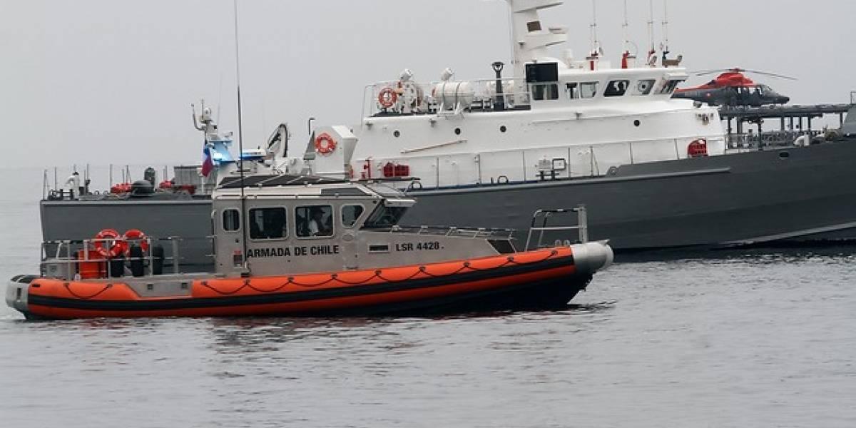 Hallan hundida barcaza desaparecida en Punta Arenas: no hay rastros de los tres tripulantes