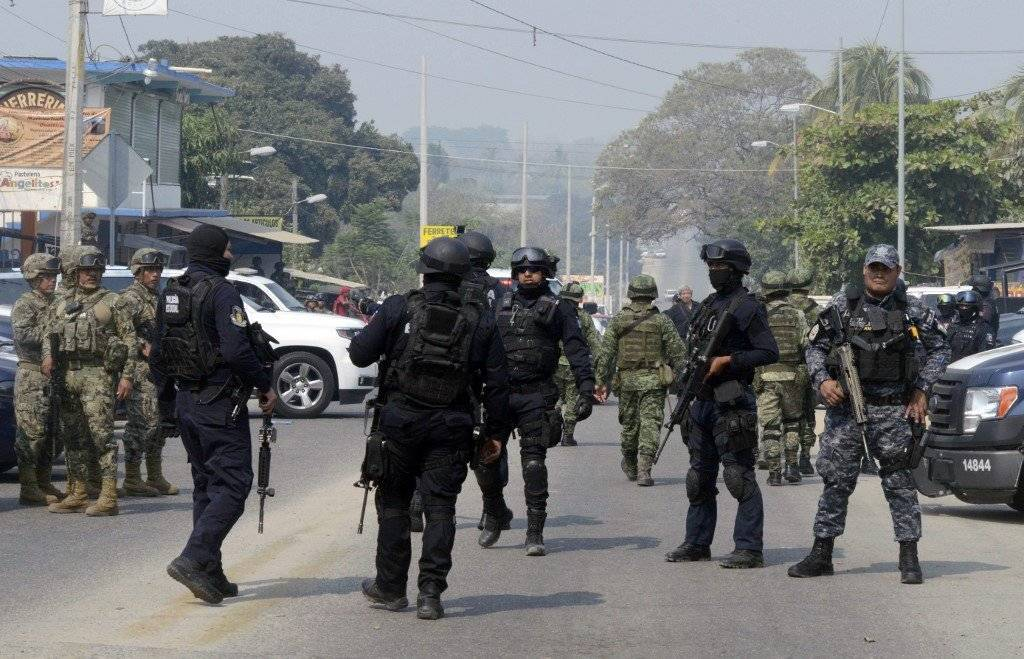 Balacera en Xaltianguis, México AFP