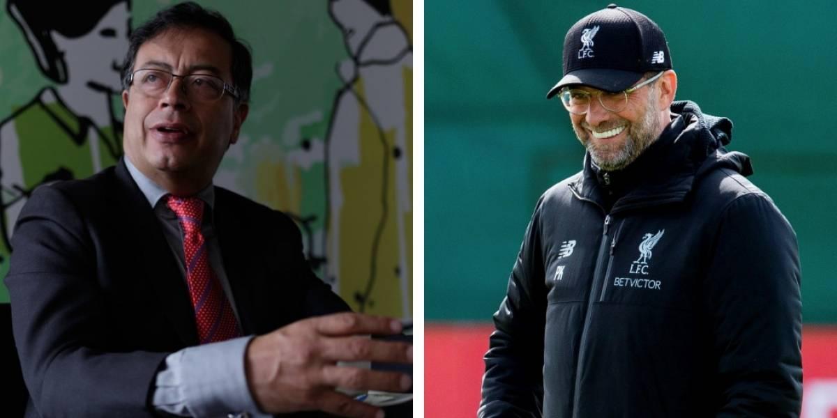 Atacan a Petro porque se comparó con técnico del Liverpool tras victoria