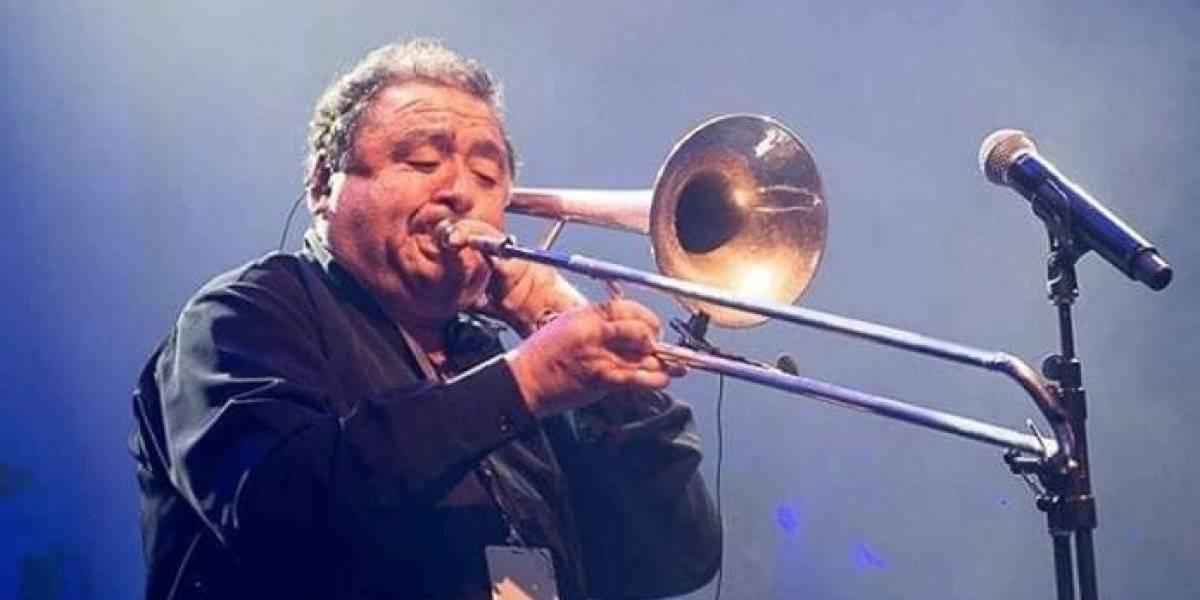 """El mundo de la música está de luto: fallece el destacado trombonista Héctor """"Parquímetro"""" Briceño"""