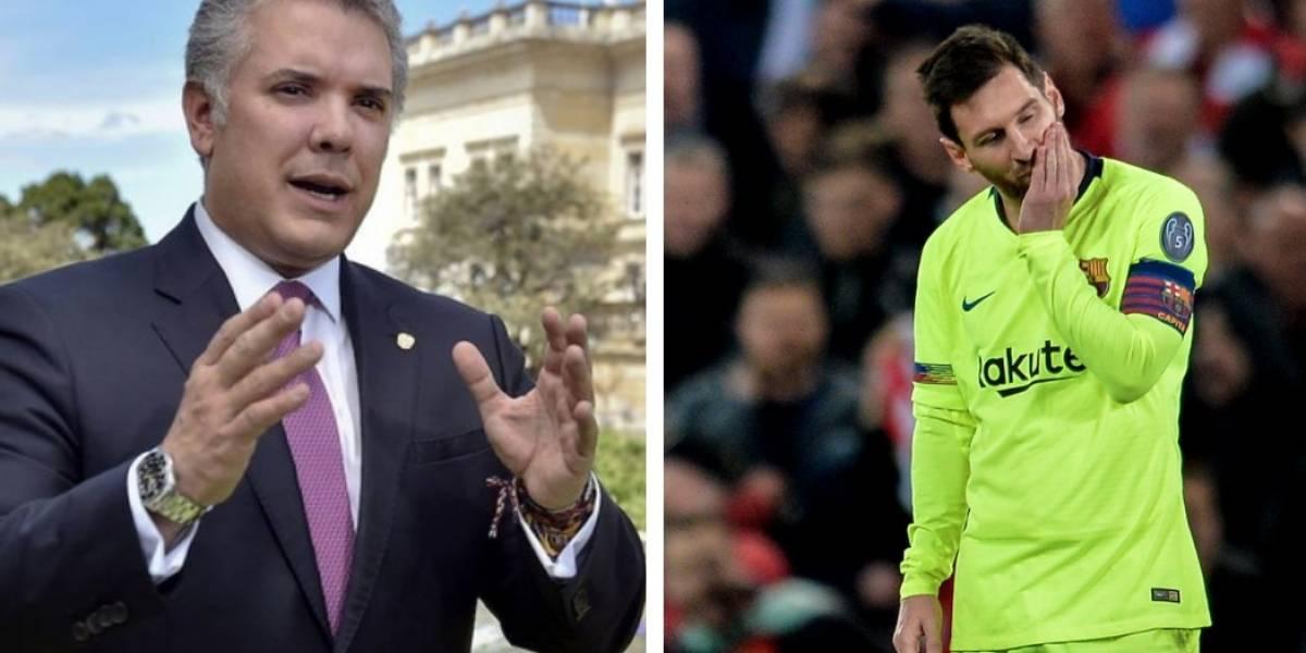 La razón por la que culpan a Duque por eliminación del Barcelona