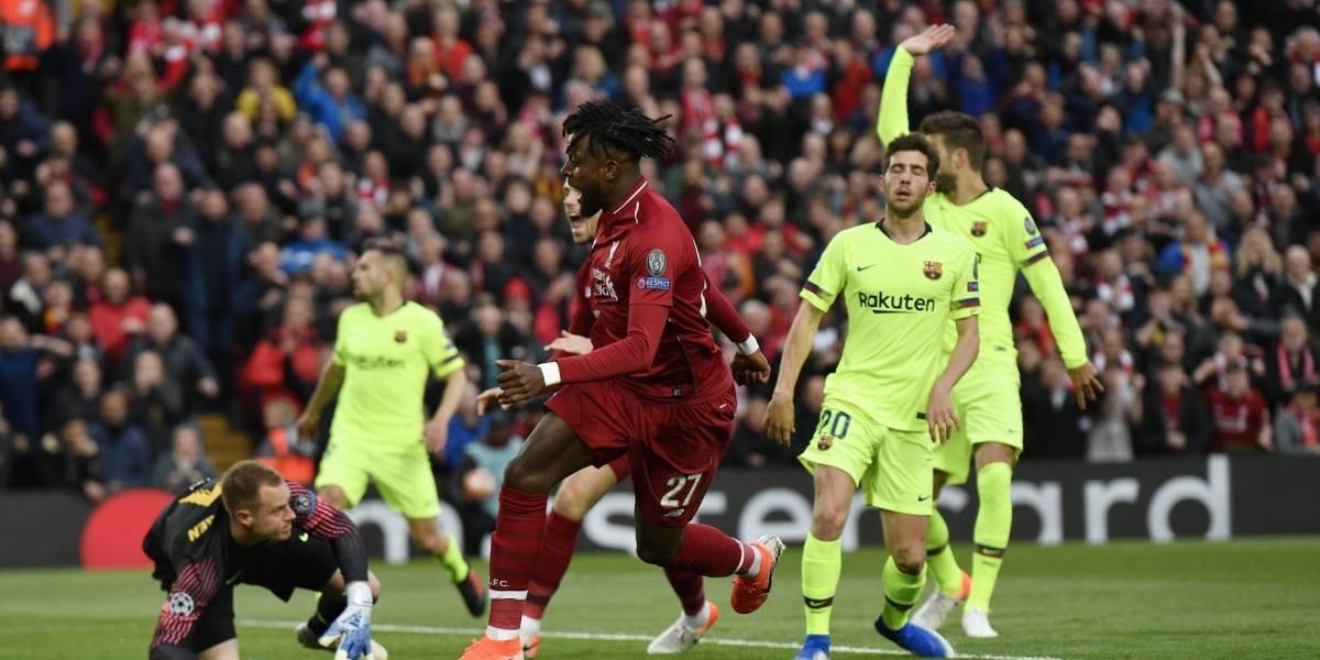 ¡Se vale creer! Un grosero error de Jordi Alba fue aprovechado por el Liverpool para el primero