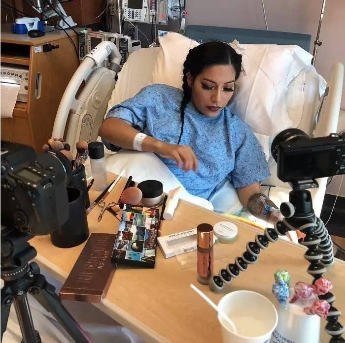 maquillarse antes del parto