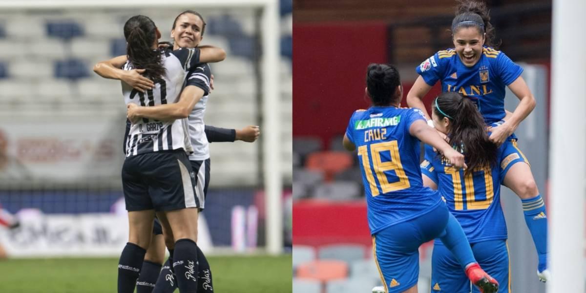 ¡Otra final regia! Tigres y Rayadas, por el título de la Liga MX Femenil