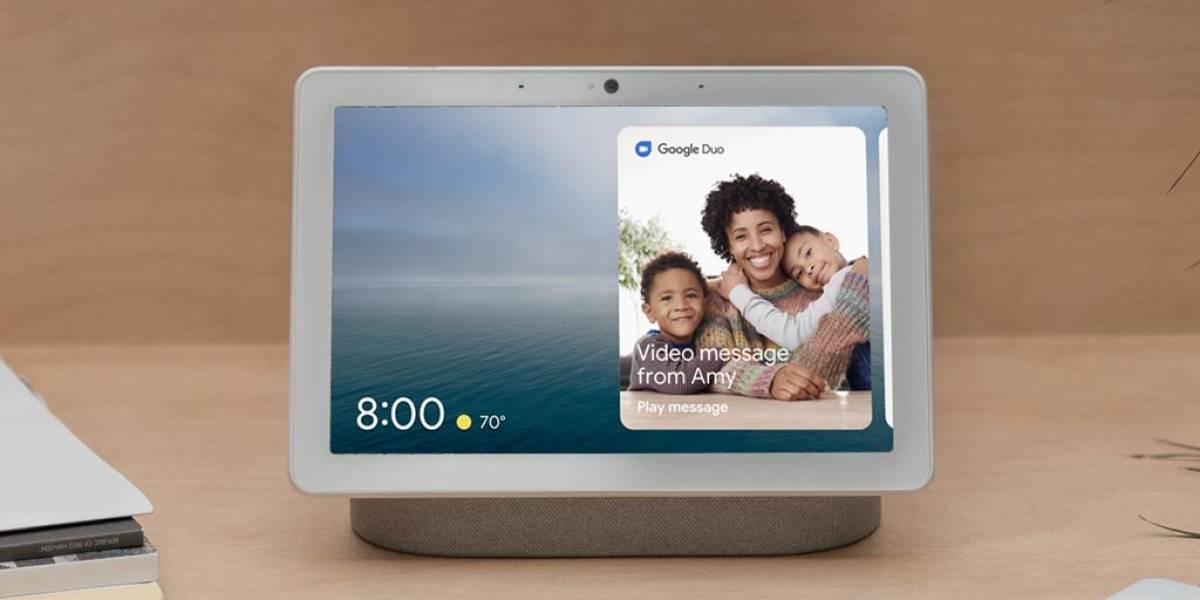 El Nest Hub Max de Google es su pantalla inteligente más avanzada #IO19