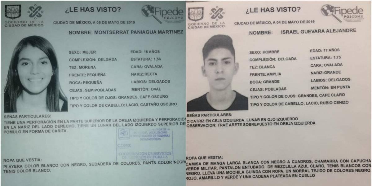 Desaparecen Montserrat e Israel, estudiantes del CCH Vallejo