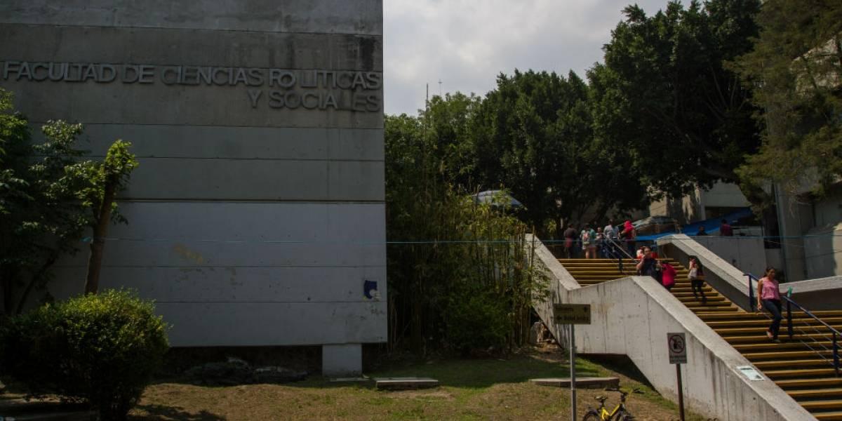 Vandalizaron FCPyS durante paro por Aideé; daños ascienden a 250 mil pesos