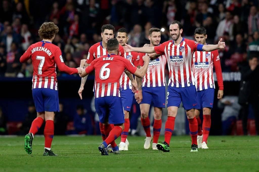 Una Liga, una Copa del Rey, dos Ligas Europa, tres Supercopas de Europa y una Supercopa de España fueron los títulos de Diego Godín en el Atlético / Foto: Getty Images