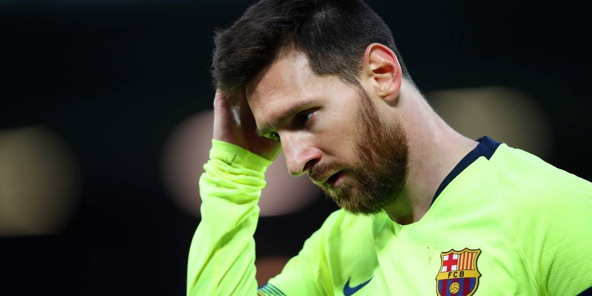 VIDEO: Messi recibe sape en partido vs Liverpool