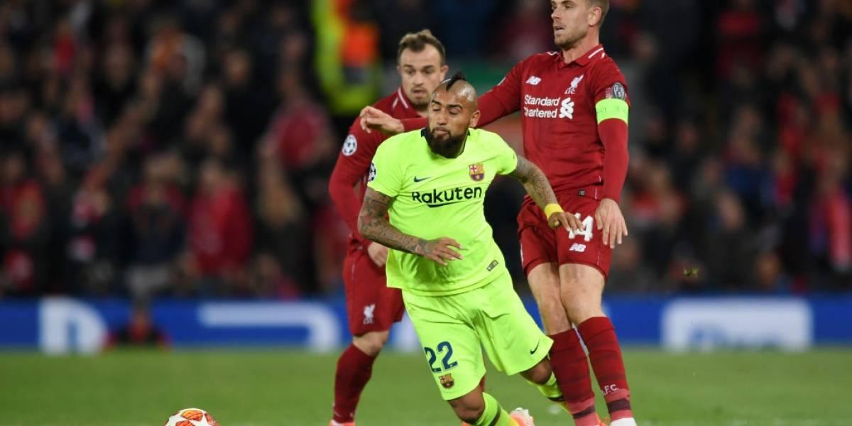 Otra vez adiós a la Champions: El sueño de Arturo Vidal tendrá que esperar un año más