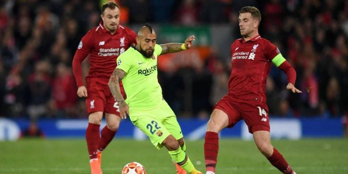 """Vidal, el """"único"""" que se salvó del desastre del Barcelona ante Liverpool: """"Entendió cómo se afrontaba este partido"""""""