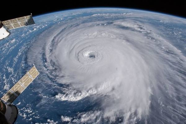 Resultado de imagen para Imagen del Huracán Dorian (NASA)