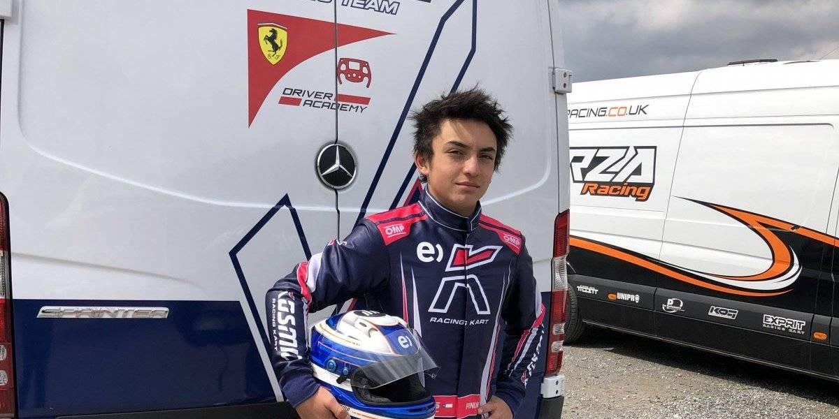 El gran salto de Nicolás Pino: Se incorporó a la prestigiosa academia de pilotos de Ferrari