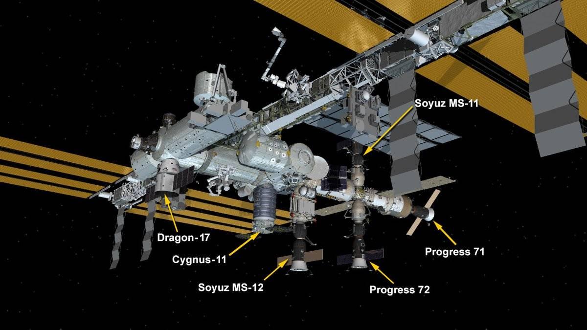 SpaceX entregó más de 2.500 kilogramos de carga de a la Estación Espacial Internacional