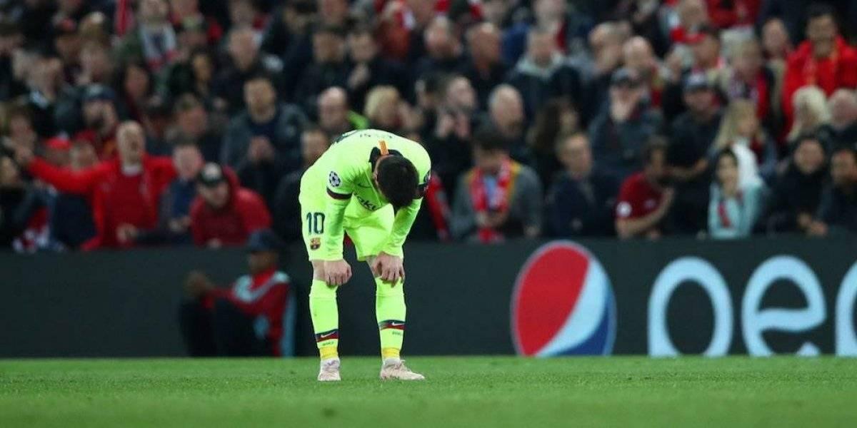 Por quinta vez Barcelona recibe cuatro goles en fase eliminatoria de Champions