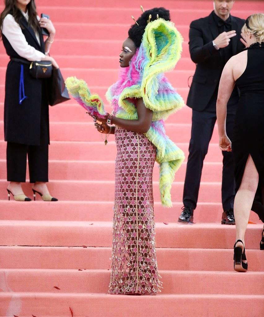 Lupita Nyongo no Met Gala