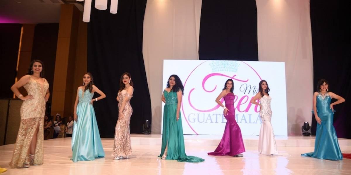 VIDEO. Candidata a Miss Teen Guatemala sufre complicaciones en pasarela por culpa de vestido