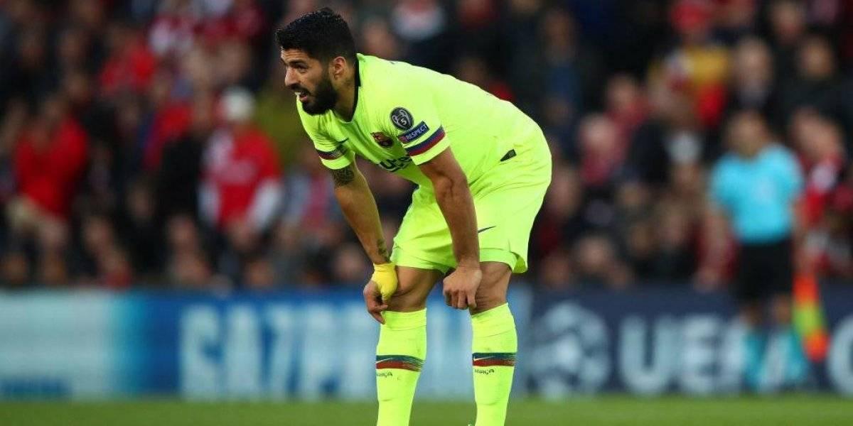 'Parecíamos juveniles', dice Luis Suárez tras eliminación del Barcelona