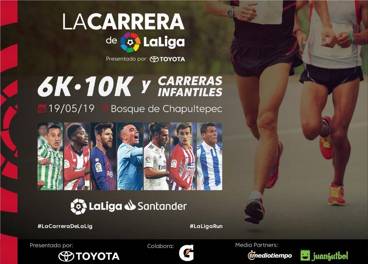 Habrá modalidad de 6k y 10k para la carrera del próximo 19 de mayo |LALIGA