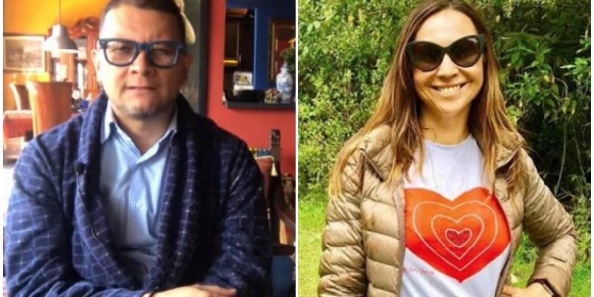 Fabián Sanabria insulta a Darcy Quinn en plena entrevista, tras desearle cáncer a Néstor Humberto Martínez