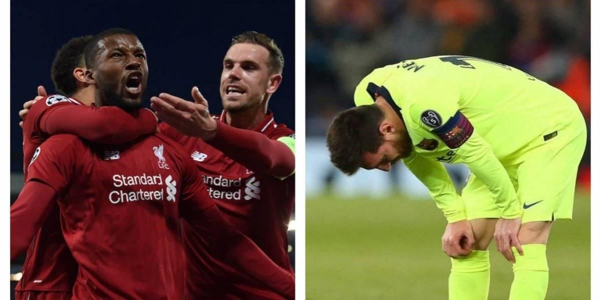 El Liverpool humilla y elimina al Barcelona de la Champions