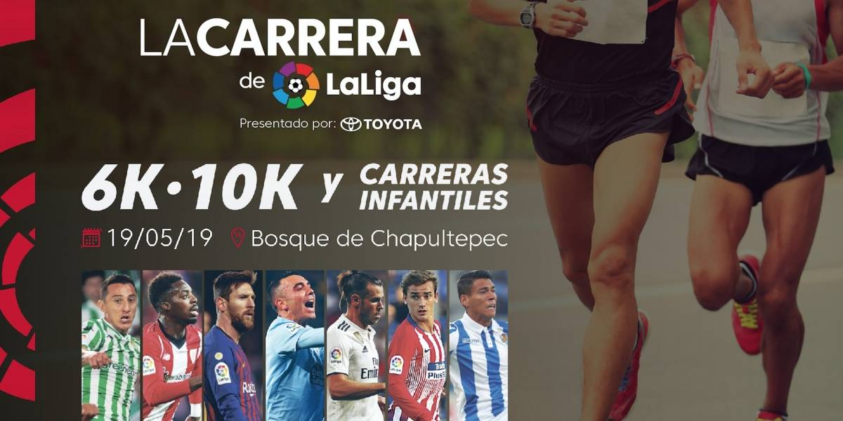 Habrá carrera de LaLiga en el Bosque de Chapultepec