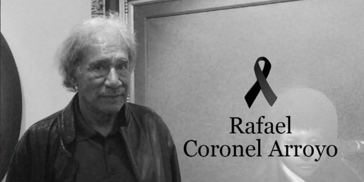 Fallece el pintor zacatecano Rafael Coronel