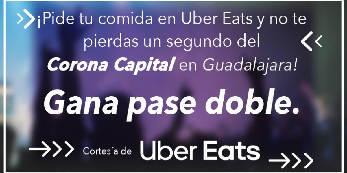 ¡Gana! pase doble para el Festival Corona Capital en Guadalajara